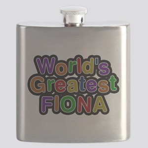 Worlds Greatest Fiona Flask