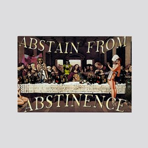Abstain From Abstinence Magnets