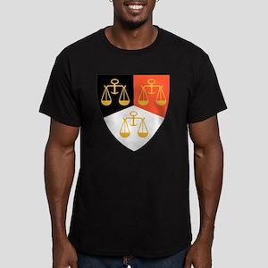 Phi Mu Delta Pin Men's Fitted T-Shirt (dark)