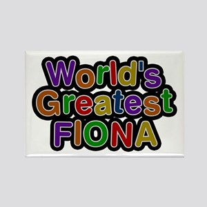 World's Greatest Fiona Rectangle Magnet
