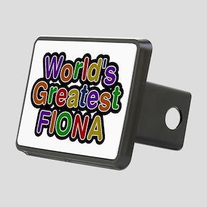 World's Greatest Fiona Rectangular Hitch Cover