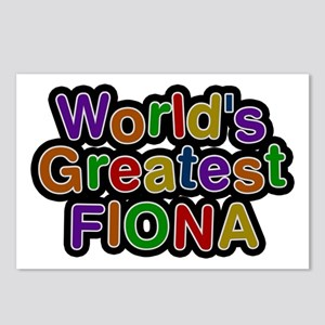 World's Greatest Fiona Postcards 8 Pack