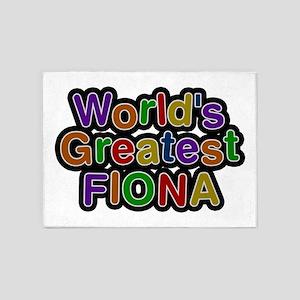 World's Greatest Fiona 5'x7' Area Rug