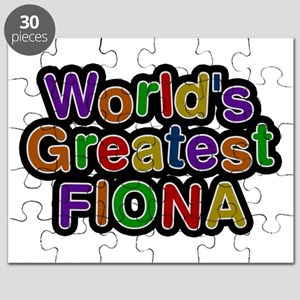 World's Greatest Fiona Puzzle
