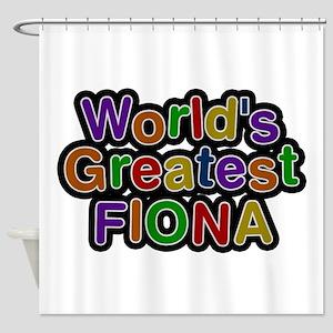 World's Greatest Fiona Shower Curtain