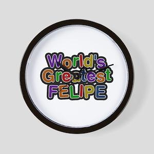 World's Greatest Felipe Wall Clock