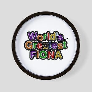 World's Greatest Fiona Wall Clock