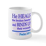 He Heals Mugs