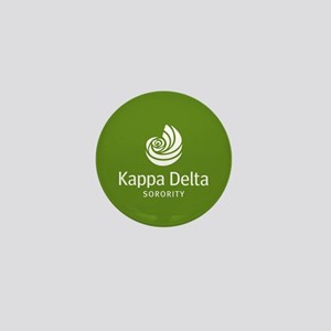 Kappa Delta Shell Mini Button