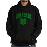 Irish shamrock Dark Hoodies