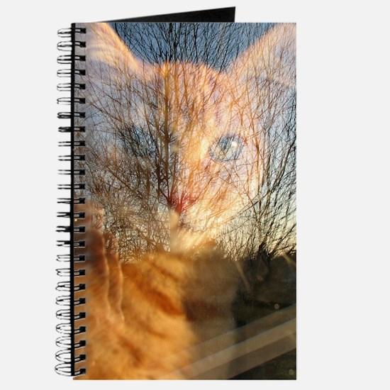 Double Exposure Kitty Journal