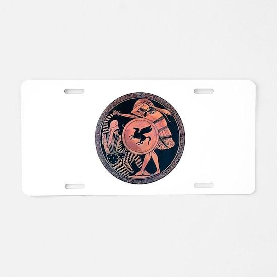 ANCIENT Aluminum License Plate