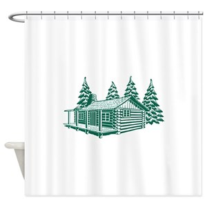 Cabin Shower Curtains