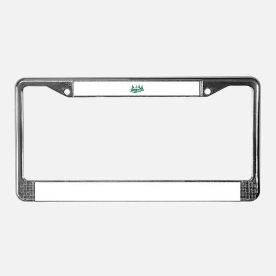CABIN License Plate Frame