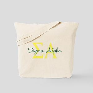 Sigma Alpha Tote Bag
