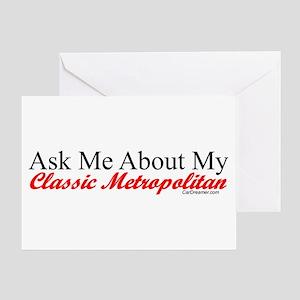 """Ask About My Metropolitan"" Greeting Card"