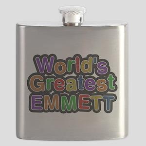 Worlds Greatest Emmett Flask