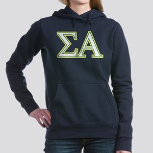 Sigma Alpha Letters Women's Hooded Sweatshirt