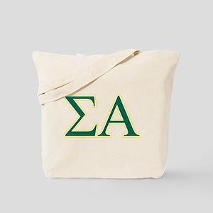 Sigma Alpha Letters Tote Bag