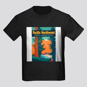 Pacific Northwest Ash Grey T-Shirt