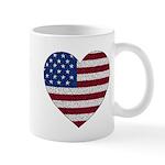 USA Heart Mug