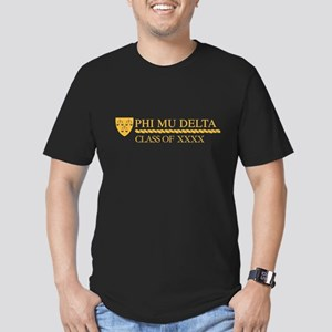 Phi Mu Delta Class of Men's Fitted T-Shirt (dark)