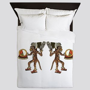 WARRIORS Queen Duvet