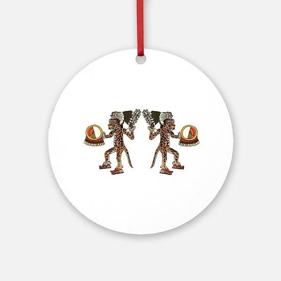 WARRIORS Round Ornament
