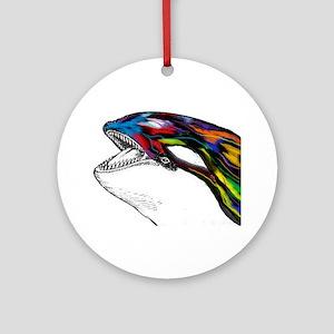 ORCA Round Ornament