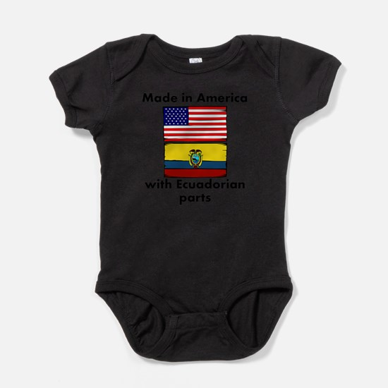 Made In America With Ecuadorian Parts Body Suit