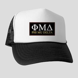 phi mu delta letters Trucker Hat