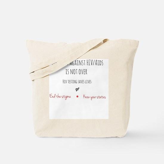 Cute Aids Tote Bag
