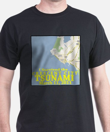 Cool I survived the hawaii tsunami T-Shirt