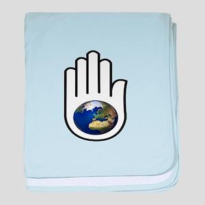 EARTH baby blanket
