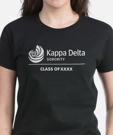 Kappa Delta Class Of Personal Women's Dark T-Shirt