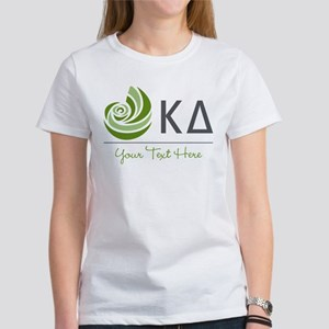Kappa Delta Letters Personalized Women's T-Shirt