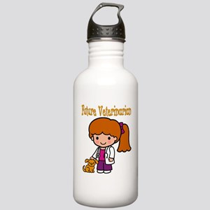 cute future vet Stainless Water Bottle 1.0L