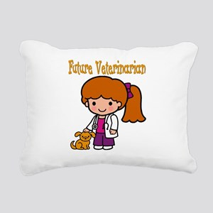 cute future vet Rectangular Canvas Pillow