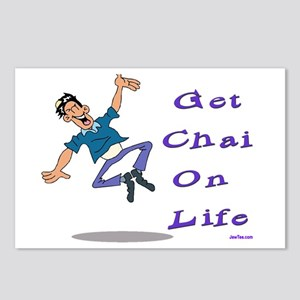 Get Chai on Life Postcards (Package of 8)