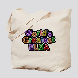 Worlds Greatest Elsa Tote Bag