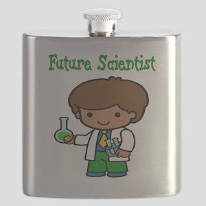 cute future scientist Flask