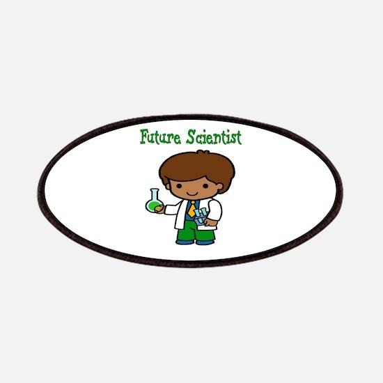 cute future scientist Patch
