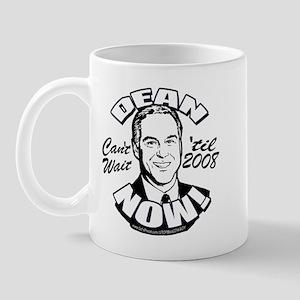 Howard Dean President NOW Mug