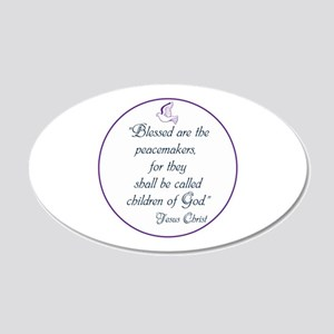Blessed the peacemakers,Children of God Wall Decal