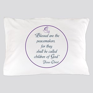 Blessed the peacemakers,Children of God Pillow Cas