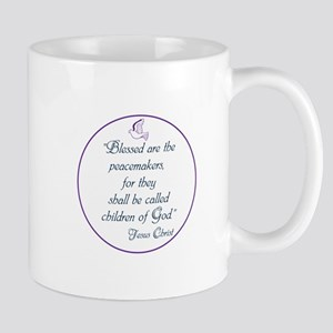 Blessed the peacemakers,Children of God Mugs