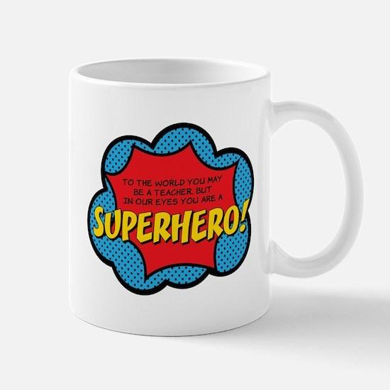 Superhero Mugs