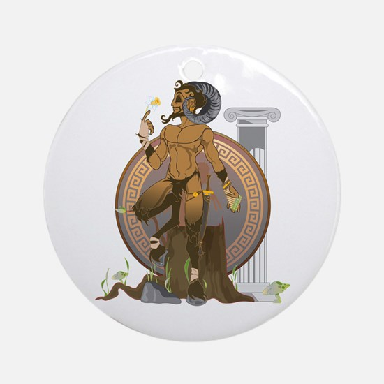 Pan Round Ornament