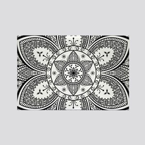 Mandala Flower Design s Magnets