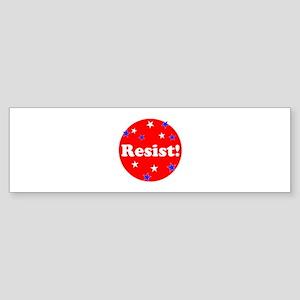 Resist! Stand up to trump Bumper Sticker